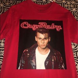 """"""" crybaby """" shirt"""